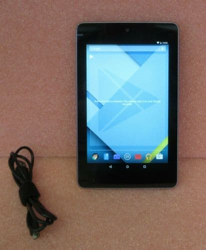 ASUS Google Nexus 7 Tablet Tegra3 4C 1.2GHz 1GB Ram 8GB Flash Android 5.1.1